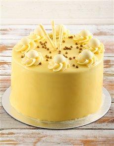 bakery: White Chocolate Lindt Cake!