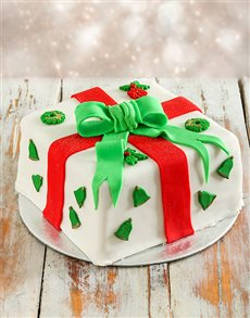 Bakery: Double Layer Traditional Christmas Cake!