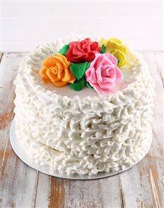 bakery: Summer Berry Rose Cake!