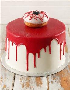 gifts: Eerie Eyeball Red Velvet Cake 20cm!