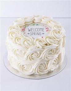 bakery: Spring Day Vanilla Rose Cake!