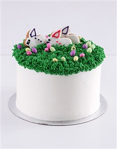 gifts: Easter Bunny Marshmallow and Vanilla Cake!
