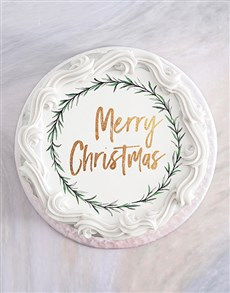gifts: Vanilla Christmas Cake!