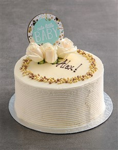 gifts: Personalised Baby Cake!