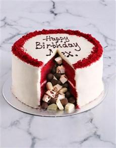 bakery: Red Velvet Pinata Cake!