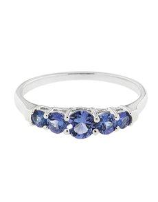 jewellery: 9kt Tanzanite Ring 0.84ct!