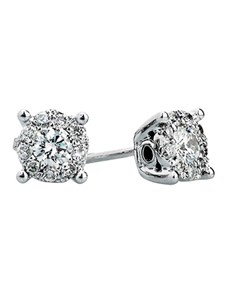 jewellery: Solitaire Diamond Earrings!