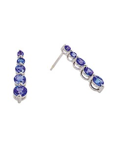 jewellery: 9kt Tanzanite Drop Earrings!