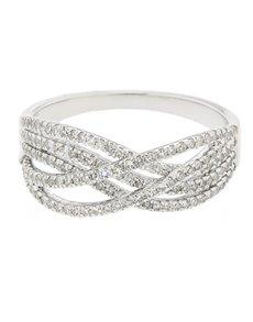 jewellery: 9kt White Gold Diamond Ring!