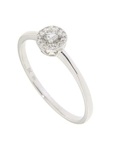 jewellery: 9kt White Gold Diamond Bridal Ring!