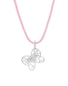jewellery: Jenna Clifford Butterfly Cord Necklace!