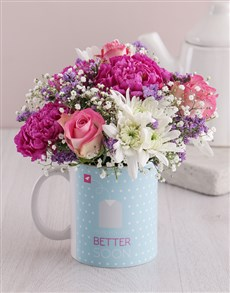 gifts: Discovery Cheerful Get Well Flower Mug!