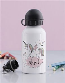 gifts: Personalised Discovery Unicorn Drink Bottle!