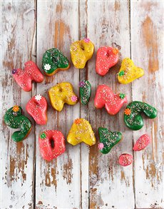 bakery: Spring Day Letter Doughnuts!