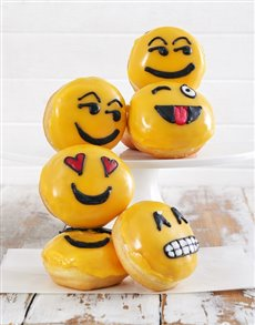 gifts: Emoji Doughnuts!