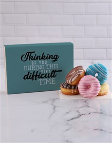 bakery: Thinking of You Doughnut Box!