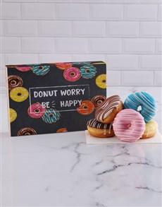 bakery: Be Happy Doughnut Box!