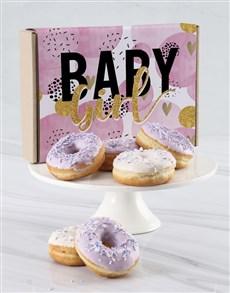 bakery: Baby Girl Doughnut Letters!