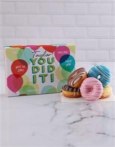 bakery: Personalised Congrats Doughnuts!