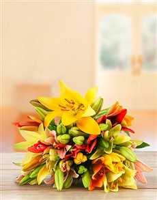 Flowers: Mixed Lily Bouquet!