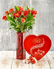 flowers: Unforgettable Chocolate Romance and Cluster Roses!