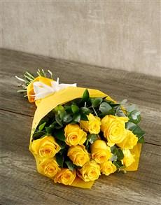 flowers: BesTea Yellow Rose Gift!