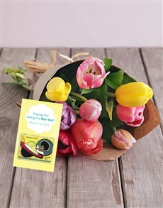 flowers: Bestea Tulip Surprise!