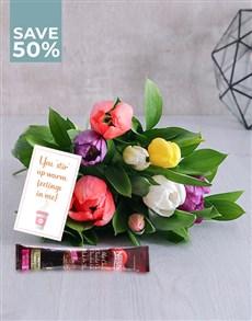 flowers: Divine Tulip Sensations With Nescafe Gold!