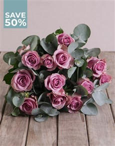 flowers: Lovely Lilac Roses!