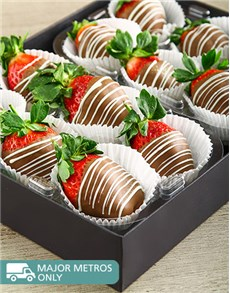 bakery: Milk Stripy Strawberries!