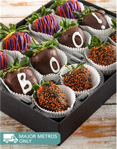 Picture of Halloween Chocolate Dipped Strawberries!