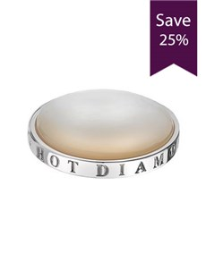jewellery: Clearance Sale Emozioni 25mm Pearl White Coin!