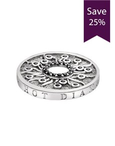 jewellery: Emozioni 25mm Many Paths Silver Coin!