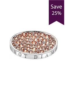 jewellery: Emozioni 25mm Champagne Coin!