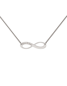 jewellery: Memi Personalised Classic Infinity Pendant!