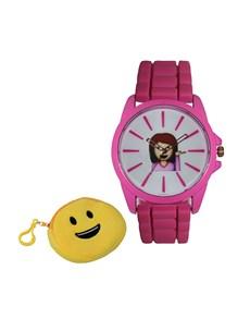 jewellery: Emoji Cyber Sassy Pink Watch!