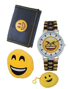 watches: Emoji Smile Watch Gift Set!