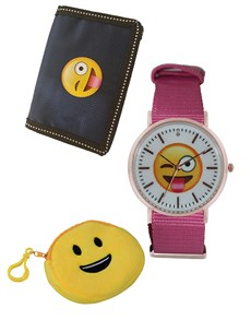 jewellery: Emoji Wink and Tongue Watch Set!