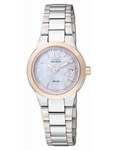 watches: Citizen Ladies eco drive two tone watch!