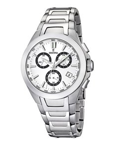 jewellery: Festina Gents Sports Chronograph Watch F166784!