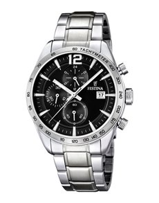 jewellery: Festina Stainless Steel Gents Watch!
