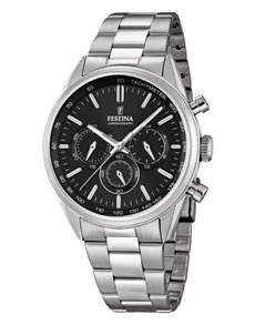 jewellery: Festina Gents Chronograph Sports Watch F168204!