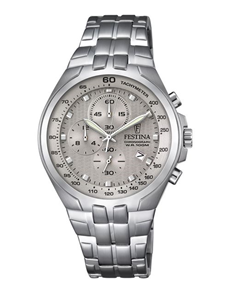 jewellery: Festina Watch with Stainless Steel Bracelet!