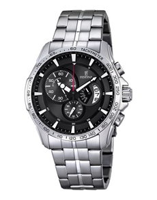 jewellery: Festina 44,5mm Stainless Steel Watch!