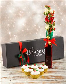 Bakery: Christmas Flour and Flower Gift Box!