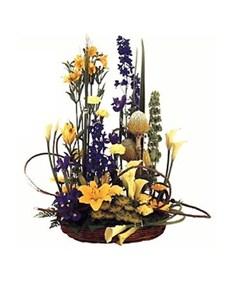 flowers: Designer Basket!