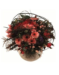 flowers: Structured Hand Tied Bouquet!
