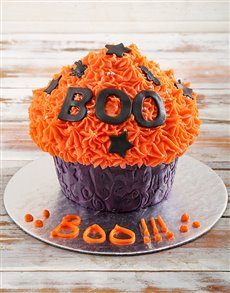bakery: Halloween Giant Cupcake!