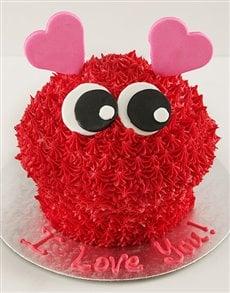 bakery: Love  Bug Giant Cupcake!