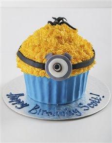bakery: Personalised Stuart The Minion Giant Cupcake!